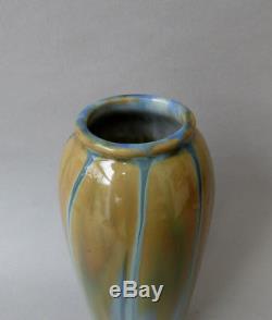 Adrien Dalpayrat, superbe vase. French Art Nouveau ceramic