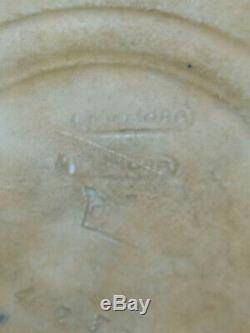 Amphora Austria Vase Ceramique Irisee Decor Coq Pottery Rooster 1910 Art Nouveau