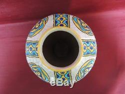 Ancien Vase Charles Catteau. Art Déco. 1930