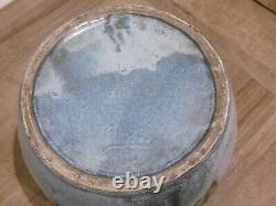 Ancien grès art nouveau Denbac vase cache pot