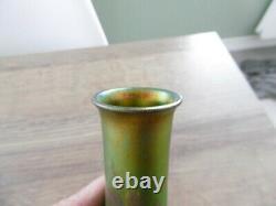 Ancien vase art nouveau en céramique irisé Massier Montières Zsolnay