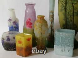 Authentique vase Daum Nancy Art Nouveau