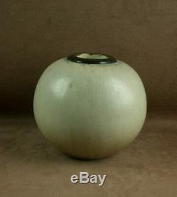 Beau Vase En Ceramique Gres Art Nouveau Signé Gentil Et Bourdet