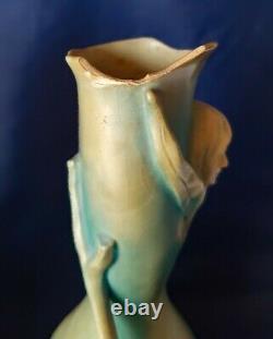Bernard Bloch (1836-1909) Paire de Vases Art Nouveau Signé & Numéroté