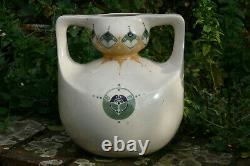 Bert Nienhuis Joli vase Art Nouveau Jugendstil De Distel plateelbakkerij