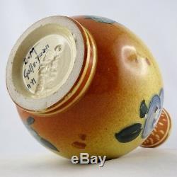 Céramique Vase Art Nouveau CLEMENT MASSIER Golfe-Juan vallauris/barol/jugendstil