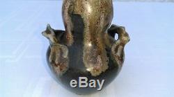 Charmant Vase Coloquinte En Grès Art Nouveau Jugendstil