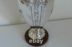 Christofle Gallia vase art-nouveau