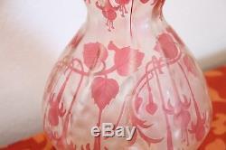 Cristallerie de Pantin Art Nouveau vase de collection