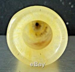 DAUM # NANCY Très beau vase art nouveau dégagé à l'acide et émaillé, gallé, muller