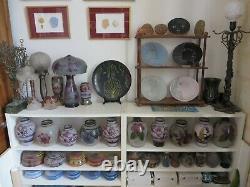 DAUM Vase décor japonisant moyen (ART NOUVEAU)