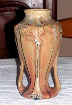 DENBAC vase art nouveau en grès N° 139