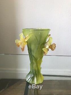 Daum Nancy Vase Original Art Nouveau