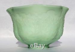 EMILE GALLÉ Rare et Grande COUPE Vase en Cristal Gravé à la Roue Expo Univ 1900