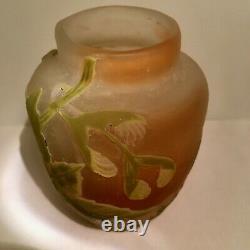 E. Galle Vase Ceremonie Du The Art Nouveau