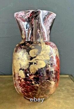 Ernest Léveillé-Theodore Legras-Vase art nouveau art deco muller-daum-gallé