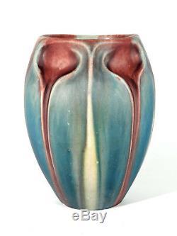 Eugene Baudin Style Art Nouveau Vase en Céramique° Saint-Briac Um 1900