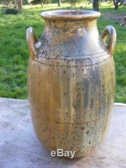 Glatigny atelier Alfred Le Chatelier important (10,2kg) vase grès - près Sèvres