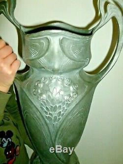 Grand Vase Art Nouveau Juventa