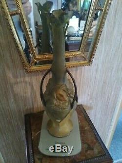 Grand Vase Art Nouveau signe maurel