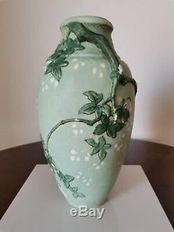Grand Vase Céramique Art Nouveau Edmond Lachenal Fin XIX°