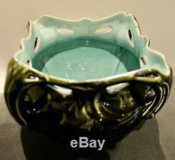 Hector GUIMARD Art nouveau céramique cache pot vase de Chalmont Ceramic Pottery