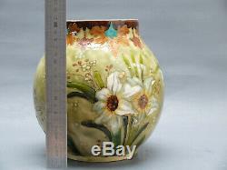 Herbert Felix O. Milet Vase Sevres Faience Art Nouveau XIX Vase 1900 Yung Deck