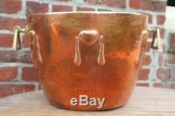 Important Vase Cache Pot Art Nouveau Jugendstil Wmf