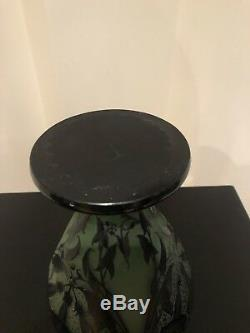 Important Vase Paul Nicolas Art Nouveau D Argental Période Emile Galle