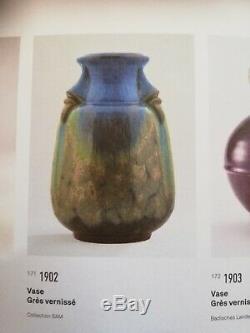 Incroyable vase Art nouveau Henry Van de Velde Jean Langlade