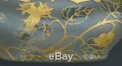 Jardiniere montjoye legras (no daum galle vase 1900 art nouveau)