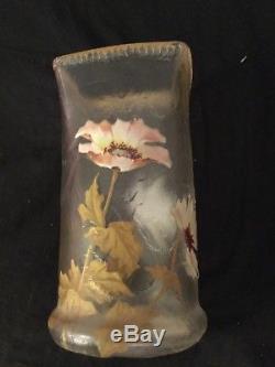 Joli vase legras montjoye Art nouveau