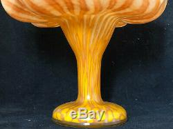 Jugendstil Vase en Verre Art Nouveau Vers 1900 Antique Glass