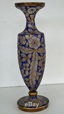 Julius MÜHLHAUS & Co. Vase Jodhpur Haïda Art Nouveau vers 1910