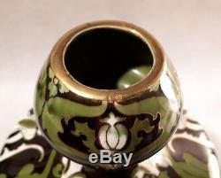 Lunéville Superbe grand vase Art Nouveau K G Keller et Guerin
