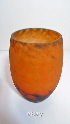 MULLER Frères LUNEVILLE- Vase Art nouveau Vier JUGENDSTIL vasen