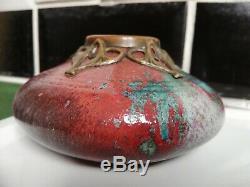 Magnifique Vase Art Nouveau Bigot