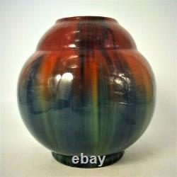 Magnifique Vase Art Nouveau Jerome Massier Vallauris