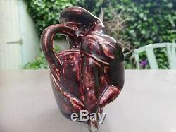 Magnifique Vase Art Nouveau de James Vibert et Émile Muller No Dalpayrat