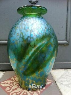 Magnifique Vase loetz papillon art nouveau