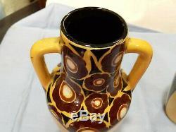 Paire De Vases 1920 Saint Jean Du Desert Art Nouveau