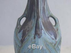 Paire de vase de Denbac d'époque Art Nouveau