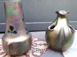 Paire de vases art nouveau massier