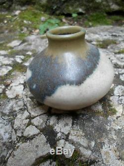 Paul jeanneney grès art nouveau grand céramiste français vase 75x75mm