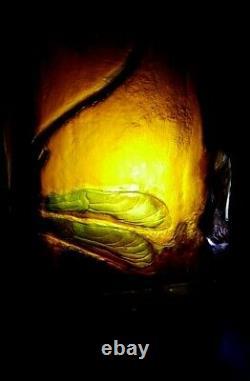 Petit vase Gallé aux libellules Art Nouveau