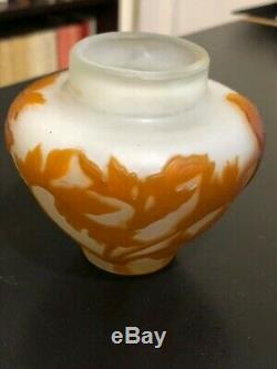 Petit vase Gallé époque Art nouveau