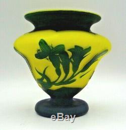 RICHARD BURGSTHAL Loetz, petit vase art nouveau, gallé, daum, muller, schneider