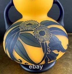 RICHARD LOETZ Grand vase art nouveau -art deco daum-schneider-muller