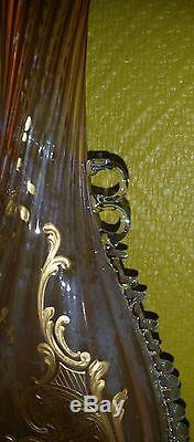 Rare Vase Auguste Jean Ou Montjoye Epoque 1900 Art Nouveau