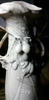 Royal Dux 2 vases Année 1900 ART NOUVEAU